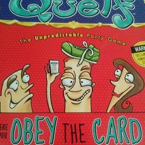 Quelf The Unpredictable Party Game